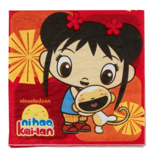 Ni Hao Kai Lan Lunch Napkins