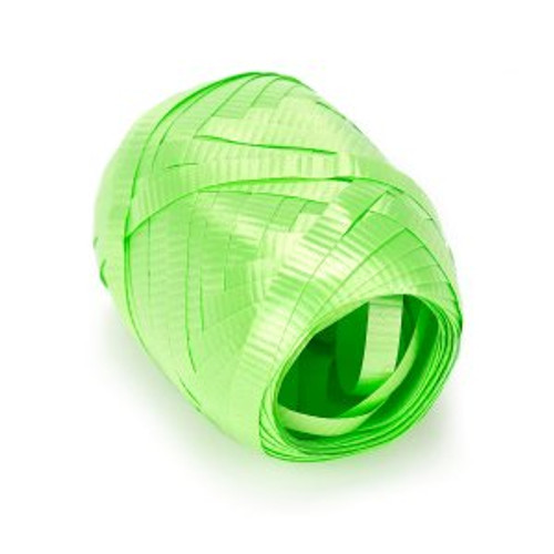 """3/16"""" Lime Green Curling Ribbon 50 feets"""