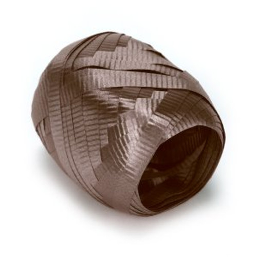 "3/16"" Brown Curling Ribbon 50 feets"