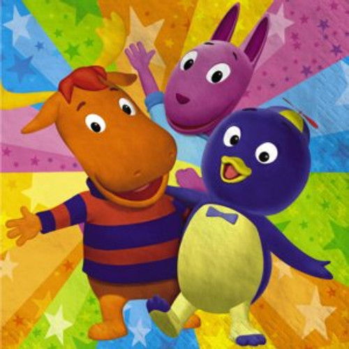 Backyardigans Lunch Napkins