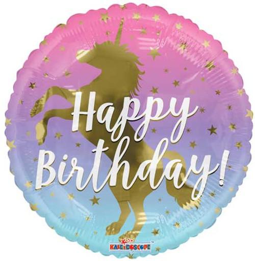 "18"" Unicorn Silhouette Birthday Balloon"