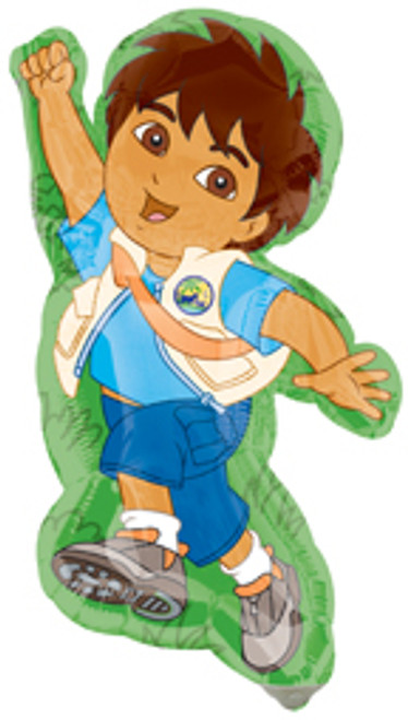 "14"" Go Diego Go Mini Shape Air Filled Balloon"