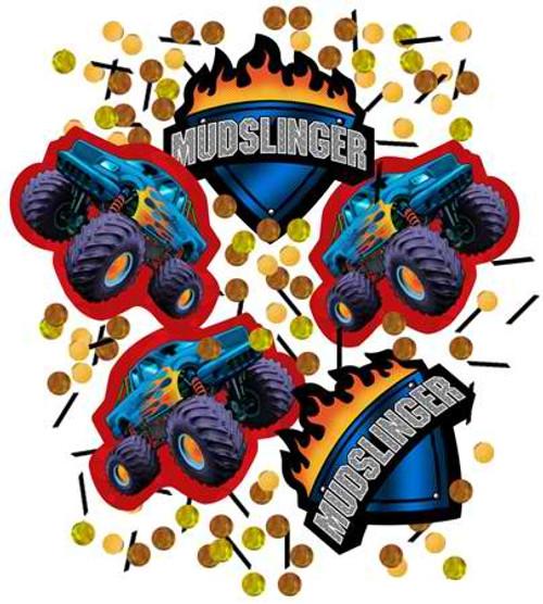 Mudslinger Printed Confetti