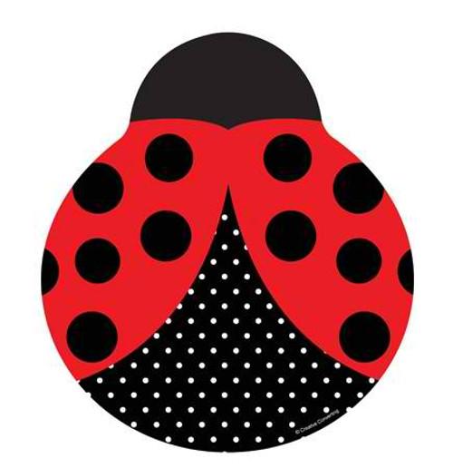 """Ladybug 9"""" Ladybug Shaped Dinner Plates"""