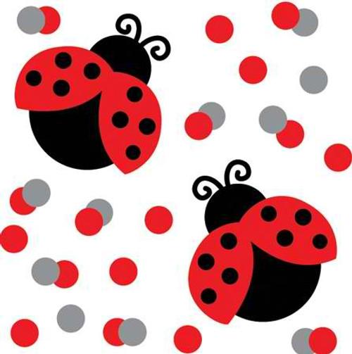 Ladybug Printed Confetti