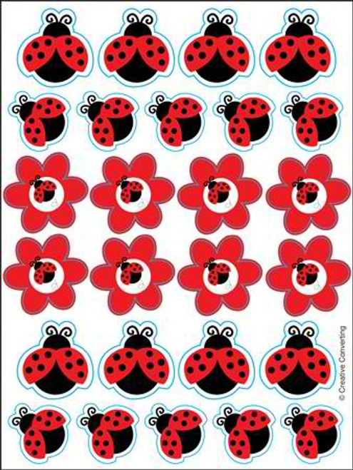 Ladybug Value Sticker