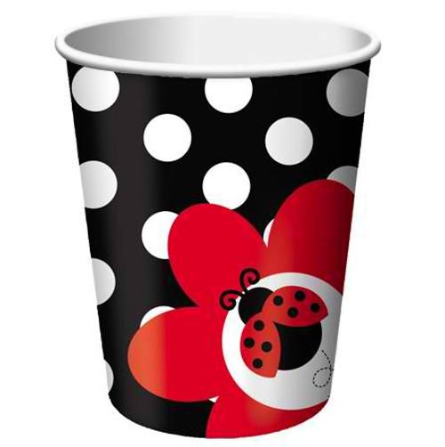 Ladybug 9 Oz Hot/Cold Cup