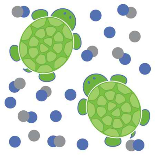 Mr. Turtle Printed Confetti