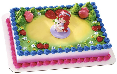 Strawberry Shortcake Cake Decoset