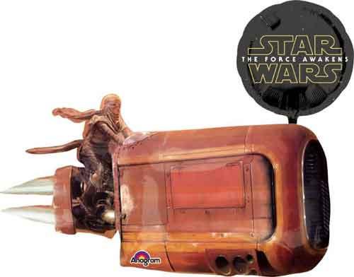 """35"""" Star Wars Force Super Shape Balloon"""