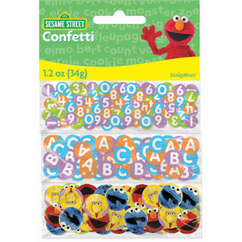 Sesame Street Party Value Confetti