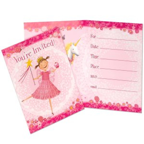 Pinkalicious Invitation Cards & Envelopes