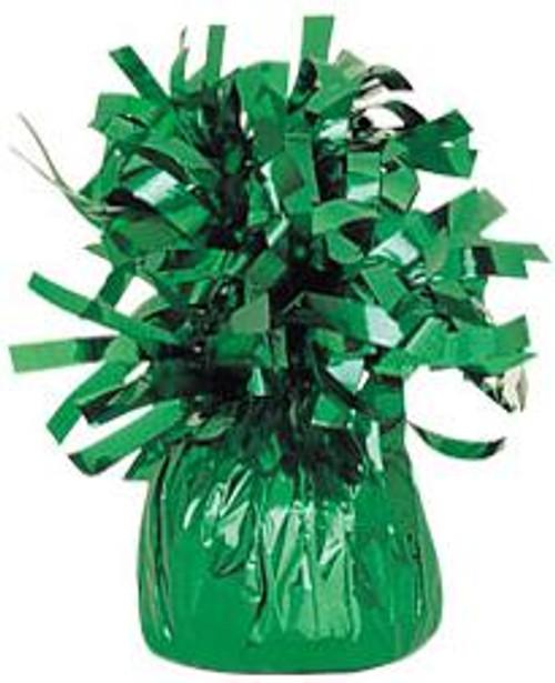150g Green Foil Balloon Weight