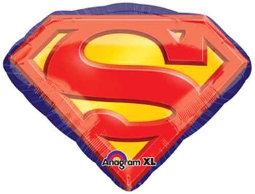 "26"" Superman Emblem Super Shape Balloon"