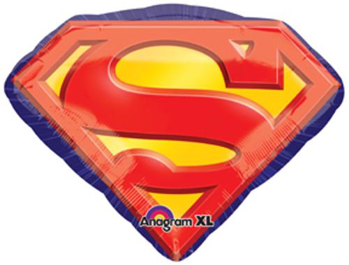 "26"" Superman Emblem Super Shape Balloon"