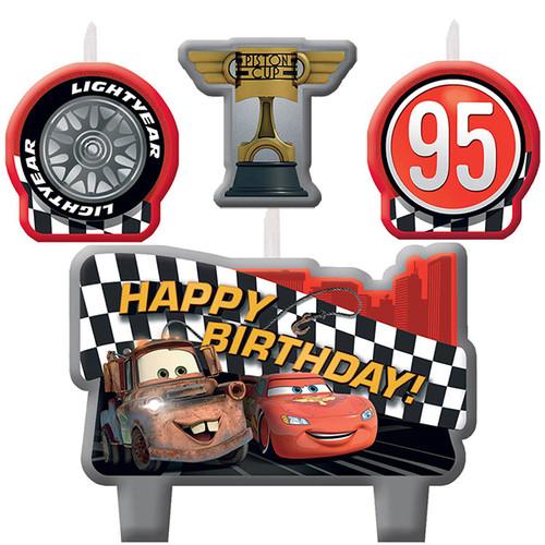 Disney Cars Formula Candle Set