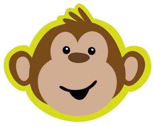 Monkey Around Invitation Cards & Envelopes