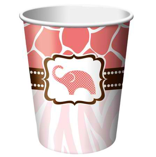 Wild Safari Pink 9 Oz Hot/Cold Cup