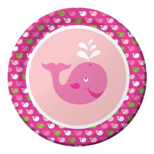 """Ocean Preppy Girl 9"""" Dinner Plates"""