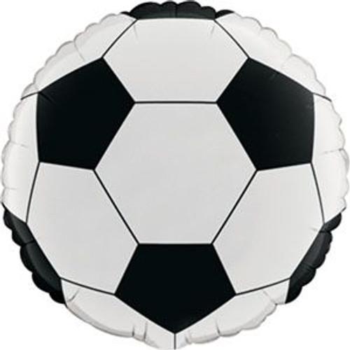 "18"" Soccer Ball Foil Balloon"
