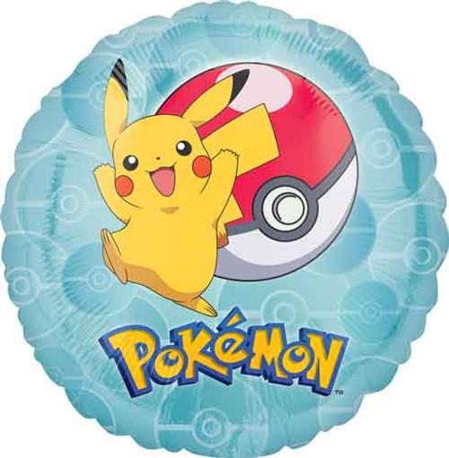 """17"""" Pokemon Pikachu Balloon"""