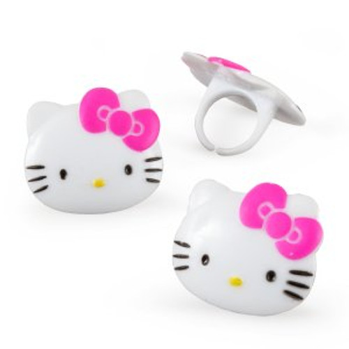 Hello Kitty Cupcake Rings