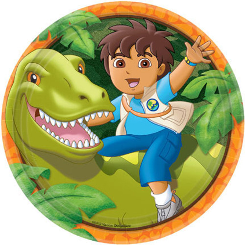 "Diego 9"" Dinner Plates"