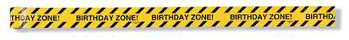 Birthday Zone Warning Tape