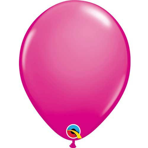 "Qualatex 11"" Standard Fashion Wild Berry Latex Balloon"