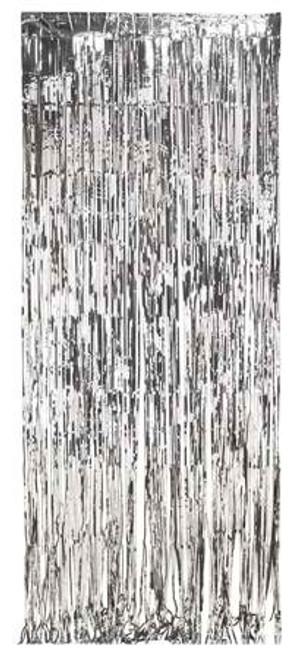 Silver Foil Door Fringe