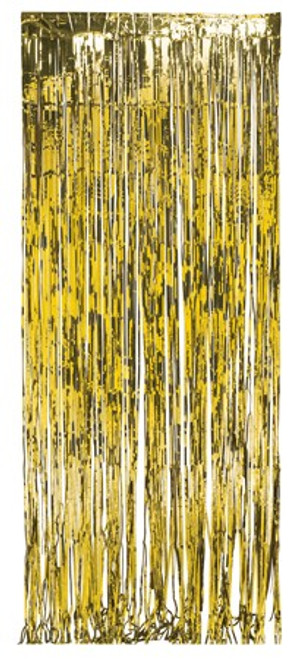 Gold Foil Door Fringe