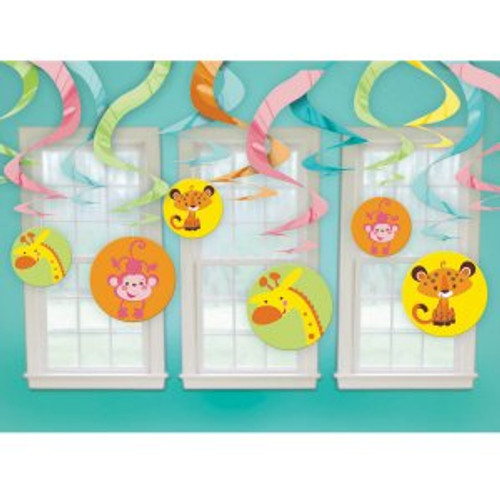 Fisher Price Baby Shower Swirl Danglers