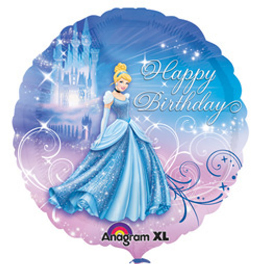 "18"" Cinderella Sparkle Birthday Balloon"