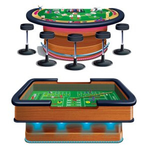 Casino Craps & Blackjack Props