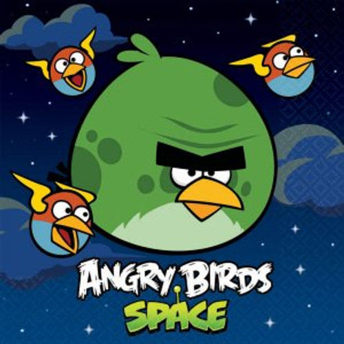 Angry Birds Space Lunch Napkins
