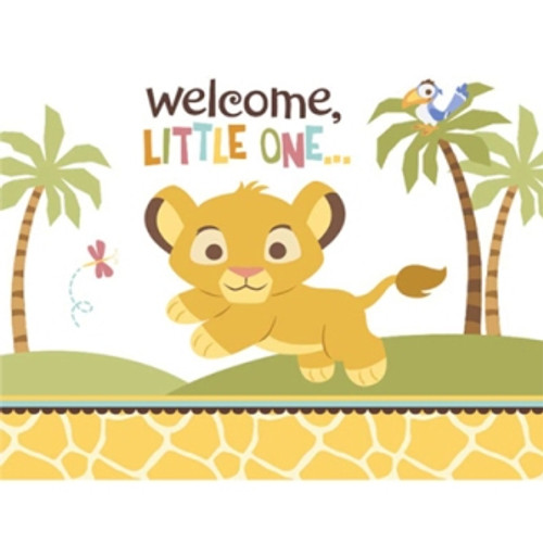 Lion King Baby Invitation Cards & Envelopes