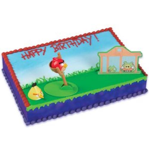 Angry Birds Cake Decoset