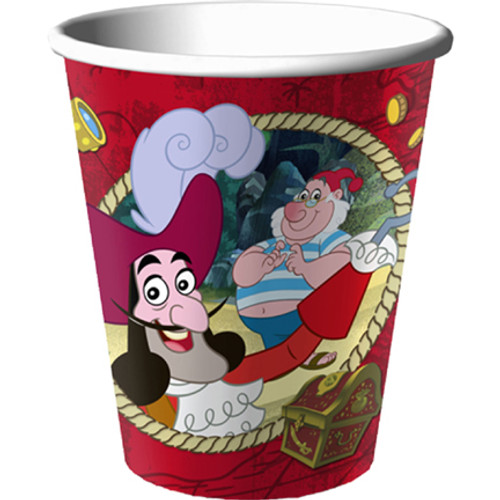 Jake & Never Land Pirates Paper Cups