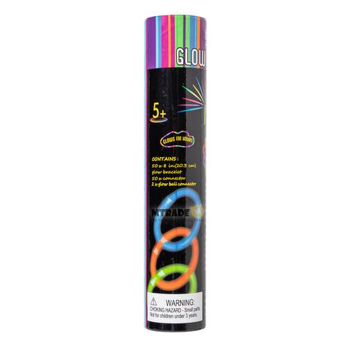 Luminous Glow Stick Bracelet 50pcs/bottle
