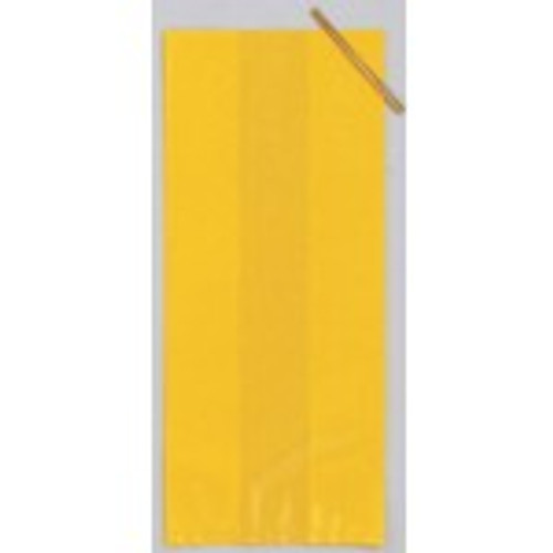 Yellow Solid Cello Bag