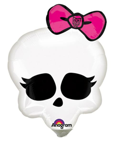 """11"""" Monster High Skullette Badge Air Filled Balloon"""