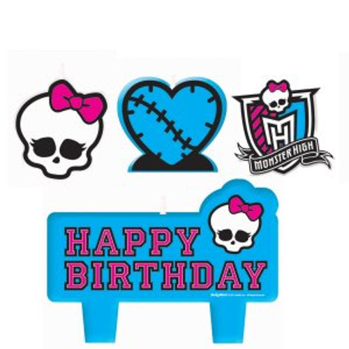 Monster High Molded Candle Set