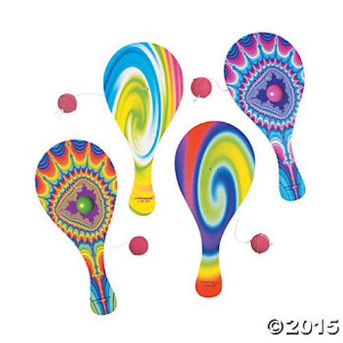 Colorful Paddle Ball