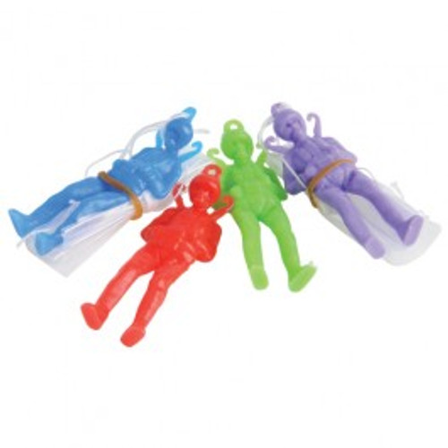 Mini Toy Paratroopers