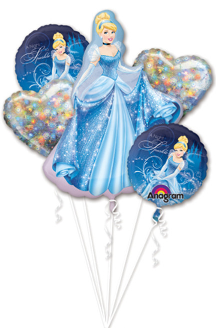 Cinderella Sparkle Balloon Bouquet