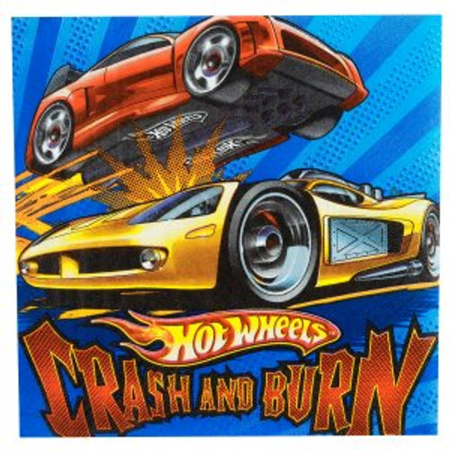 Hot Wheels Speed City Lunch Napkins