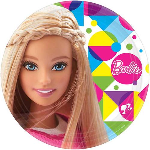 "Barbie 9"" Dinner Plates"