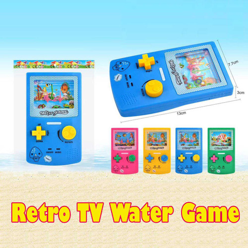 Retro TV Water Game Toy Assorted color 1pcs