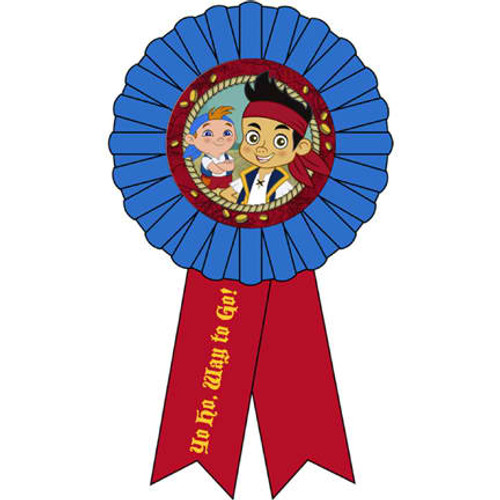 Jake & Never Land Pirates Award Ribbon