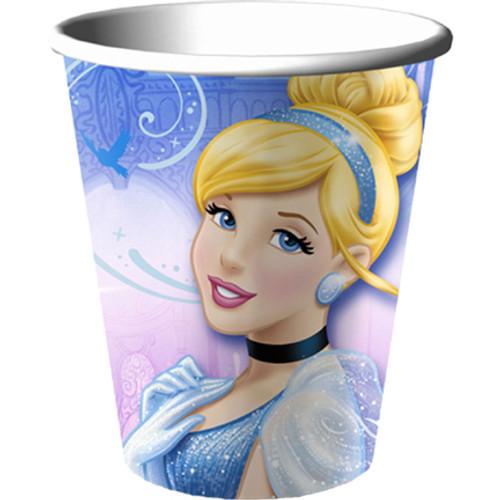 Cinderella Sparkle Paper Cups